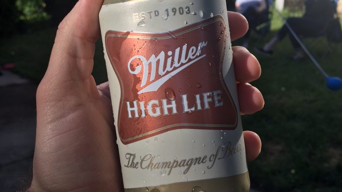 Van Vanhorn and Miller High Life-The Chapagne of Beers